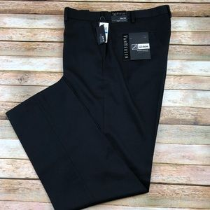 Van Huesen Slim Fit Flat Front Dress Pants. NWT